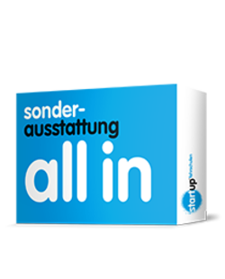 startup®-paket all in